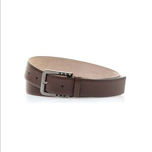 NEW • Valentino Garavani • Brown Rockstud Belt